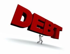 Debt - Credit cards, loans, mortgages
