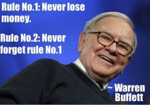 Advice from Warren Buffett